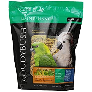 RoudyBush Daily Maintenance Bird Food, Medium, 44-Ounce 84
