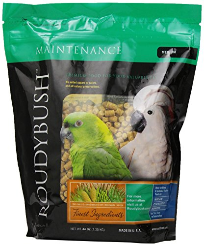 RoudyBush Daily Maintenance Bird Food, Medium, 44-Ounce ()