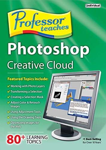 Professor Teaches Photoshop Creative Cloud [Download] - Web Filter Software