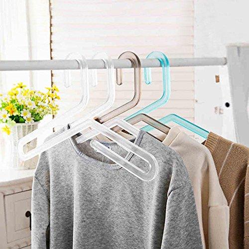 WWZY Hangers Plastics Windproof Non-slip Durable Multi Purpo