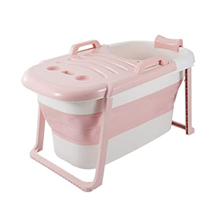 Fenfen Bañera para Adultos Niños Bañera Plegable Plegable Bañera Grande Piscina para bebés Desmontable Baño de