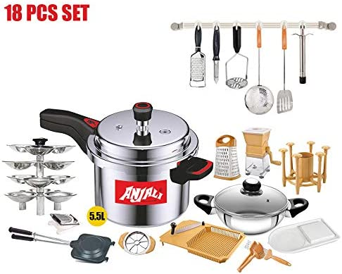 Anjali Complete Kitchen Set 18pcs With Nutricon Classy