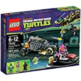 LEGO Teenage Mutant Ninja Turtles - 79102 - Jeu de Construction - La Poursuite en Carapace Furtive