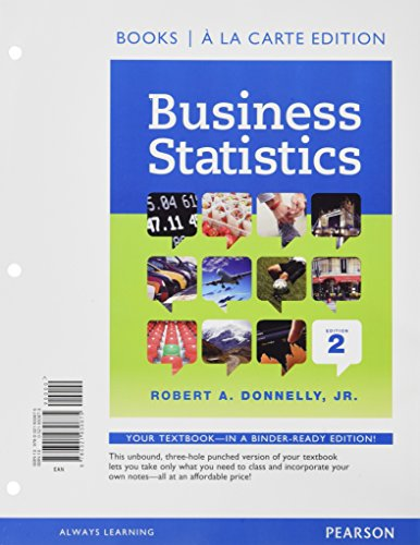 Business Statistics (Loose) W/Mystatlab