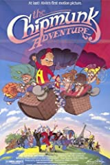 The Chipmunk Adventure 11 x 17 Movie Poster - Style A