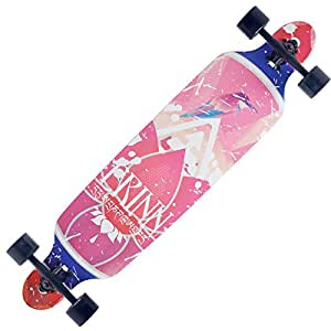 BACKFIRE Maple longboard Cruiser Through 9.5x42 Longboard Skateboard Complete