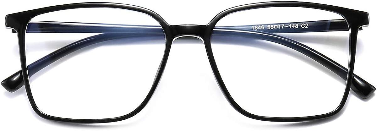 TR90 Computer Anti Radiation Eyeglasses Women Nerd Glasses Men Clear Glasses
