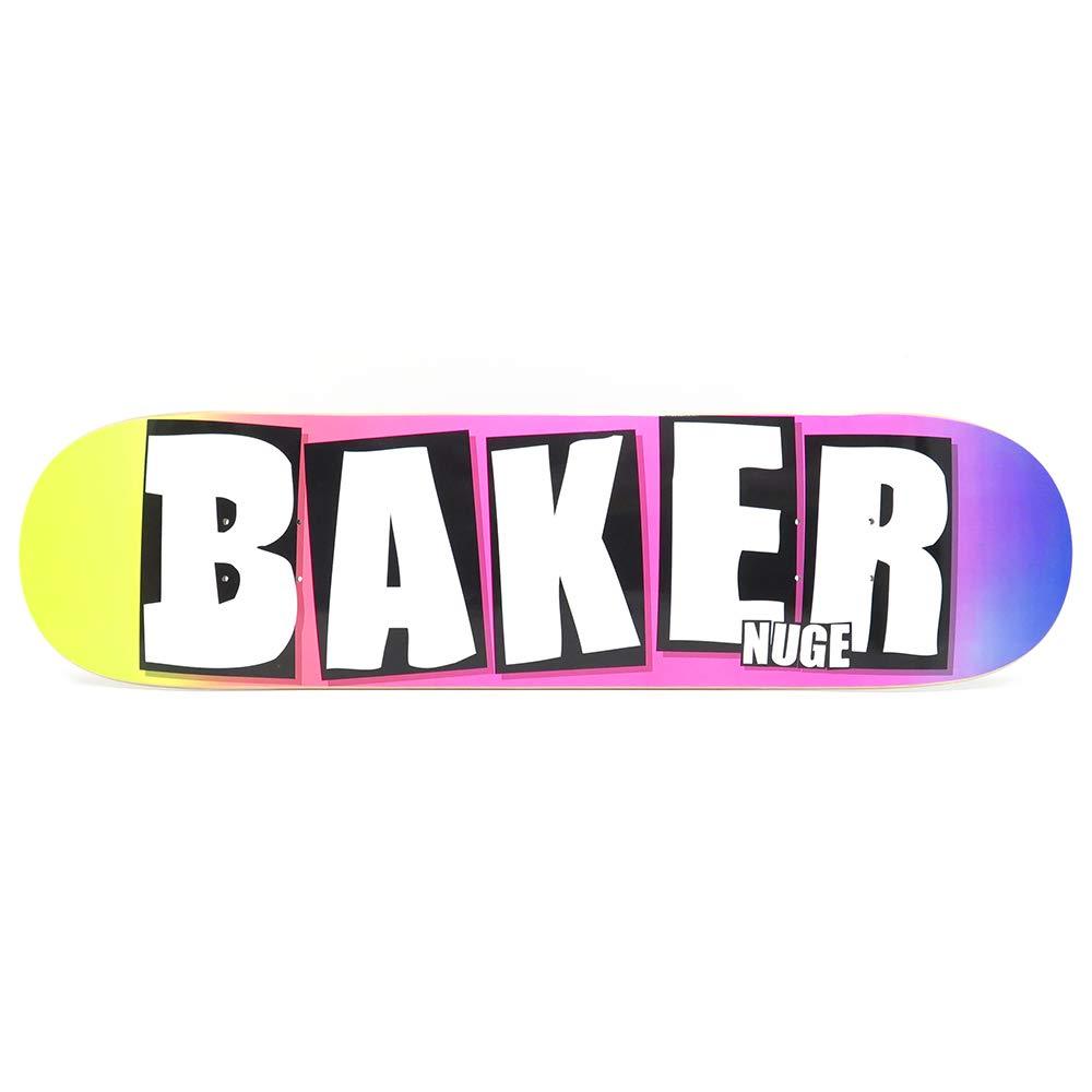 BAKER DECK ベイカー デッキ NUGE NUGE BRAND NAME GRADE NAME GRADE 8.0 スケートボード スケボー SKATEBOARD B07K446LSK, シャコタンチョウ:5c7206a8 --- grupocmq.com