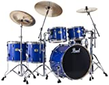 Pearl SSC944XUP/C Session Studio Classic 5-Piece Drum Set - Sheer Blue