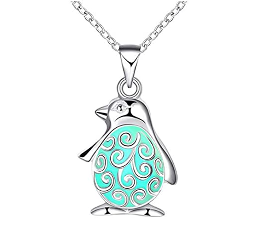 drawihi 1 unidades niedliche Bombilla Pingüino collar ...