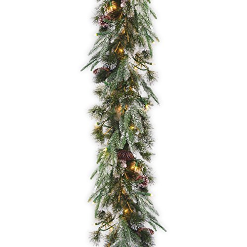 Pinecone Three Light - National Tree 9 Foot by 10 Inch