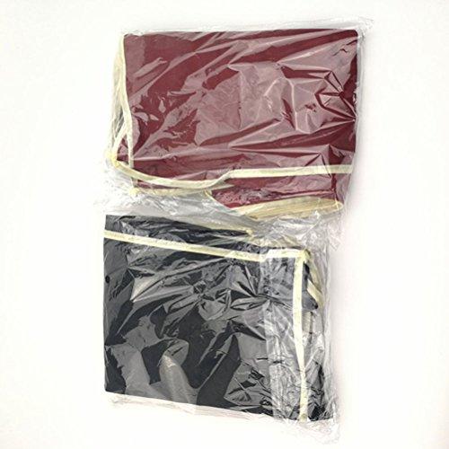 OUNONA Schuhe Storage Travel Bag Tragbare Schuhe Case Organizer Tote Bag (Schwarz)