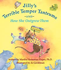 When Jilly, a happy little kangaroo, has a series of Terrible Temper Tantrums, her parents lovingly help her through them. Children will be very familiar with the frustrations that trigger Jilly's upset feelings, and will applaud her dawning ...