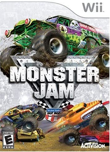 Amazon Com Monster Jam Nintendo Wii Artist Not Provided Video