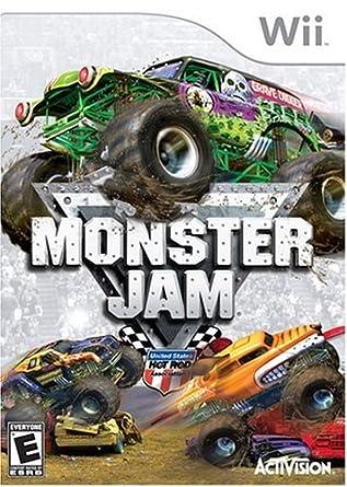 Amazon Com Monster Jam Nintendo Wii Artist Not Provided Video Games