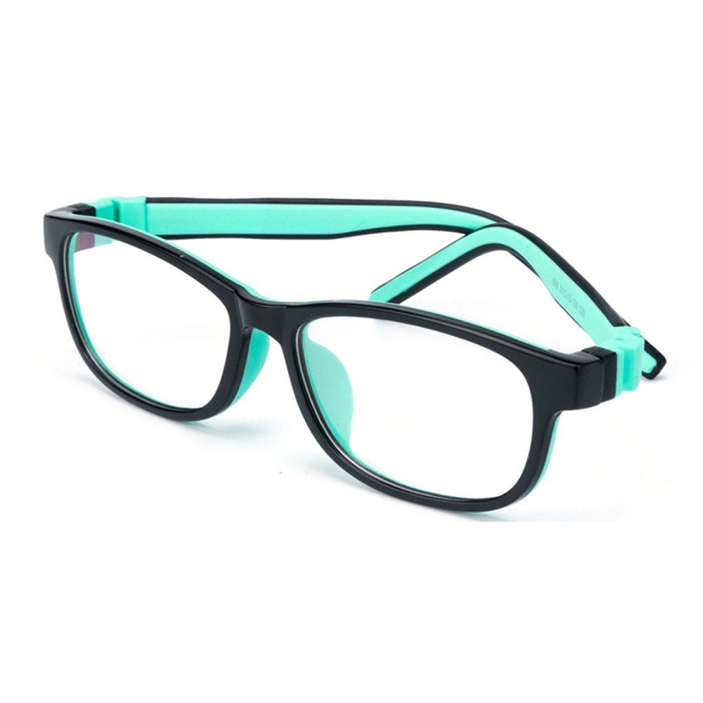 Fantia Children Silicone Eyeglasses Kids Myopia Glasses KIds Gifts Age 3-12 (C8)