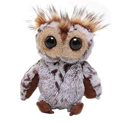 Plushland Standing owl 9 Inches Adorably Cute Plush Stuffed Animal Toy Super Soft and Cuddly for Babies Lovable Present for Holidays, Birthday, Valentines Day, Mother's Day, Graduation: Toys & Games