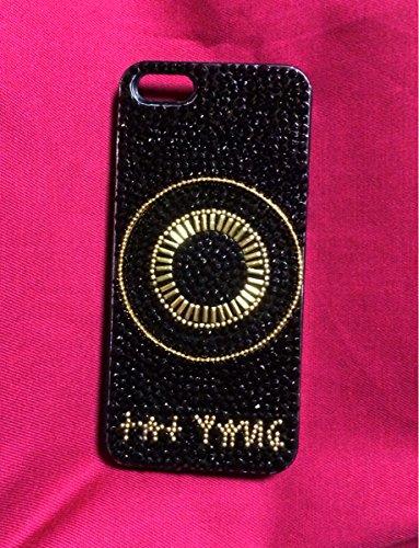 iPhone5/5S/SEデコケース BIGBANG SOL風 RISE taeyang スワロ   B07QBLZ4G8