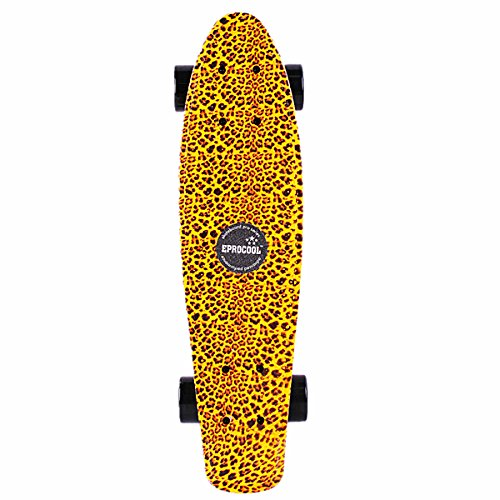 ShopSquare64 Eprocool Leopardo Leopardo Leopardo Pesce Stampa di Skateboard Piccolo retrò di Skateboard Longboard ec-flgl01 B07JPJS9WN Parent | Ordine economico  | Durevole  | Exquisite (medio) lavorazione  | Attraente e durevole  | Gli Ordini Sono Benvenu b964e9