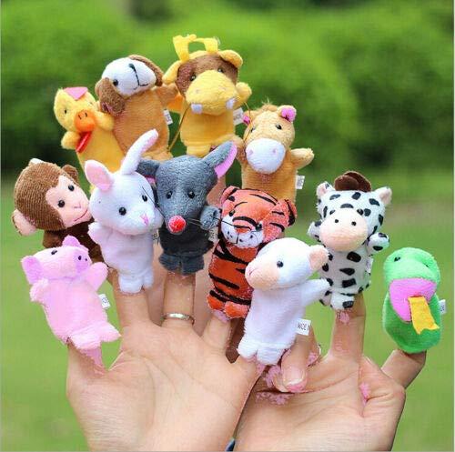 [해외]Family Finger Puppets Cloth Doll Baby Educational Hand Cartoon Animal Toys Sets / Family Finger Puppets Cloth Doll Baby Educational Hand Cartoon Animal Toys Sets