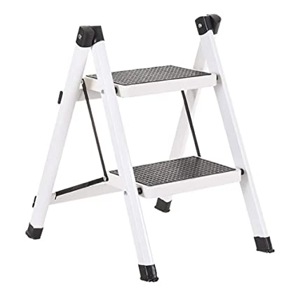 Fabulous Amazon Com Lxf Step Stool 2 Step Stool Metal Anti Slip Pabps2019 Chair Design Images Pabps2019Com