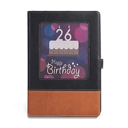 Card Birthday Blues Clues - Thick Notebook,26th Birthday Decorations,A5(6.1