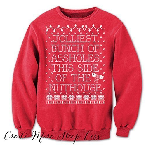 jolliest bunch of assholes ugly sweater christmas vacation sweater tacky christmas sweater griswold christmas