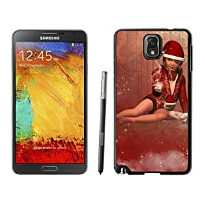 2014 New Style Merry Christmas Black Samsung Galaxy Note 3 Case 4