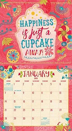 Legacy Publishing Group 2018 12-Month Wall Calendar, Do Good, Think Happy Thoughts Photo #2