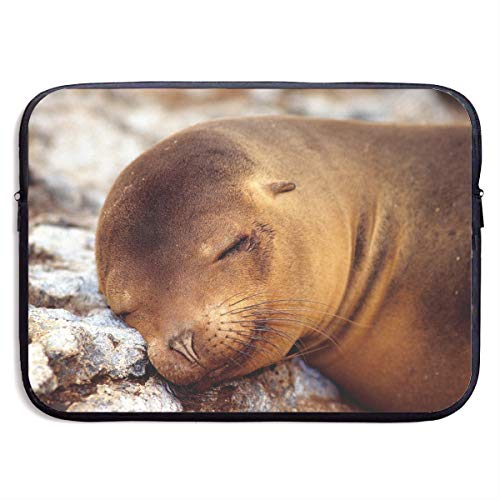 Computer Bag Laptop Case Slim Sleeve Sleeping Sea Lion Waterproof 13-15In IPad Macbook