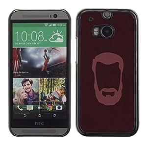 Stuss Case / Funda Carcasa protectora - CABALLERO BARBUDO - HTC One M8