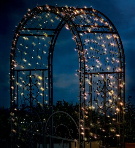 Solar String Lights With White LEDs, 200 count by Plow & Hearth