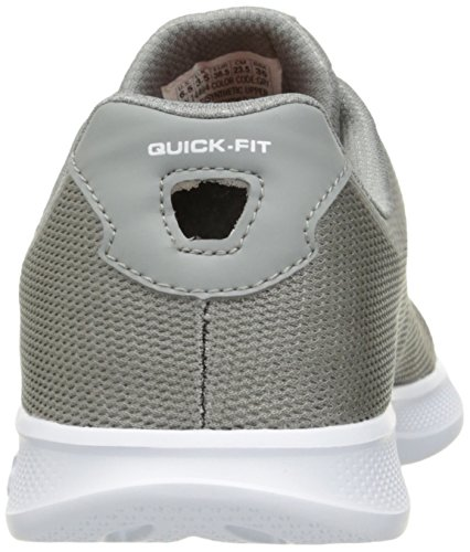 Skechers Go Step Lite-Endure Mujer US 6 Gris Zapato para Correr