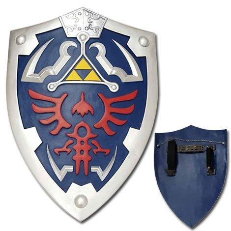 Legend Of Zelda Costume Accessories (Swords Swords Zelda Triforce Shield (Standard))