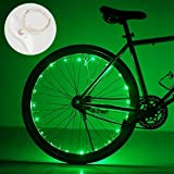 DIMY Cool Best Gifts for 5-14 Year Old Boys, Bike Wheel Light Gifts for Teen Boys 5-14 Year Old Boy Girl Gifts New Gifts Green TTB01