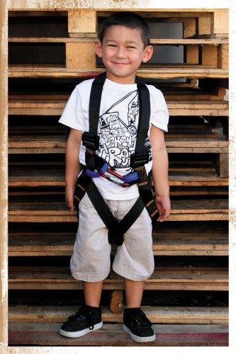 padded climbing harness - 8