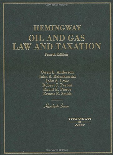 hemingway-oil-and-gas-law-and-taxation
