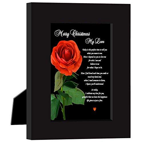 - Christmas Card for Girlfriend, Boyfriend, Wife, Husband- Merry Christmas My Love