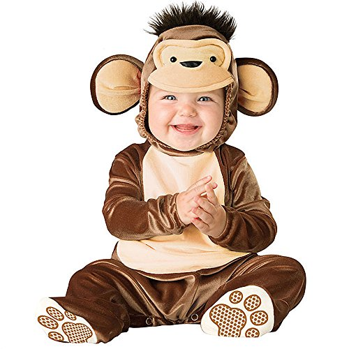 XXOO Toddler Baby Infant Little Monkey Christmas Dress up Outfit Costume]()