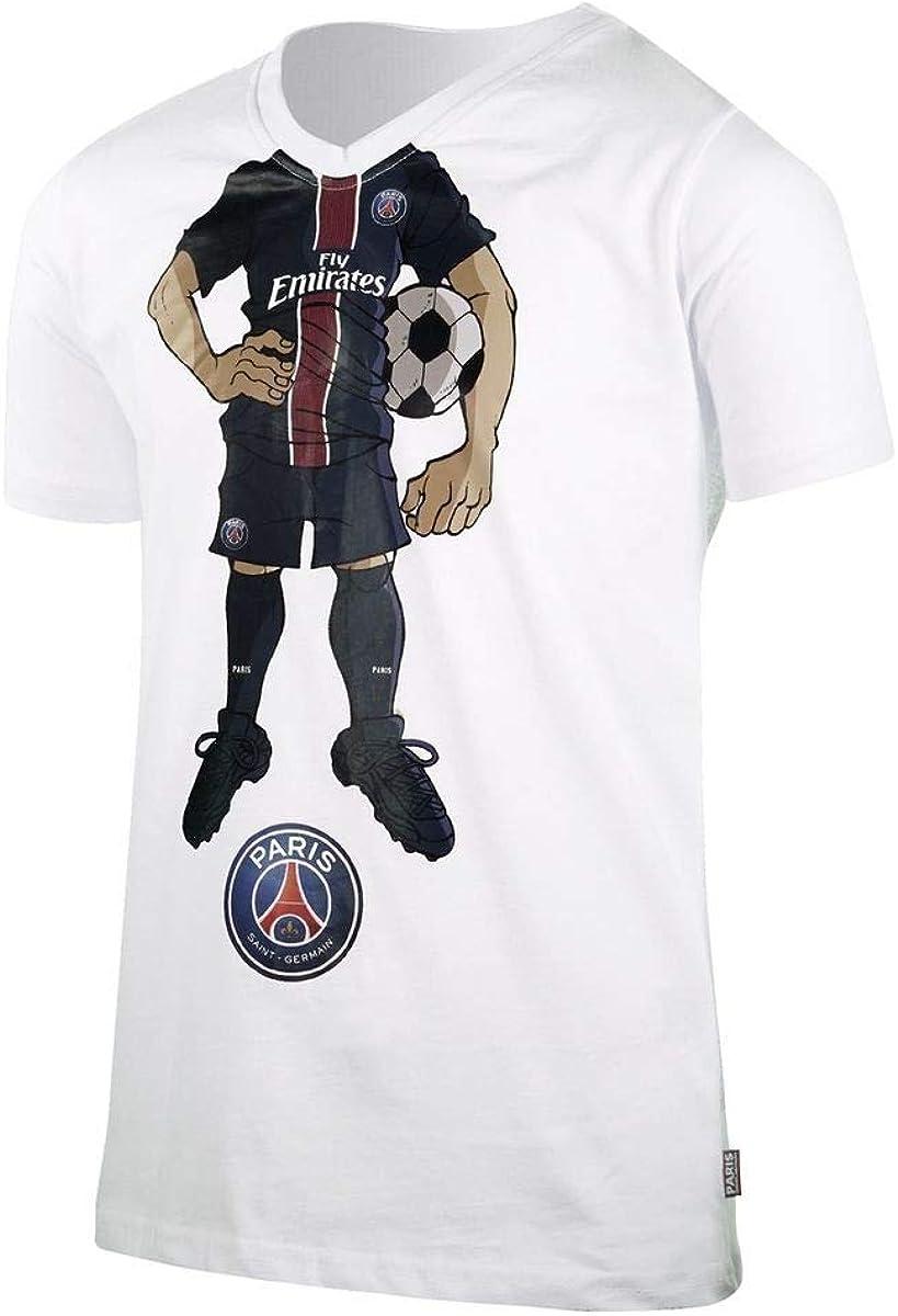 Collection Officielle Paris Saint Germain Kylian MBAPPE PSG T-Shirt n/°7 Taille Adulte Homme