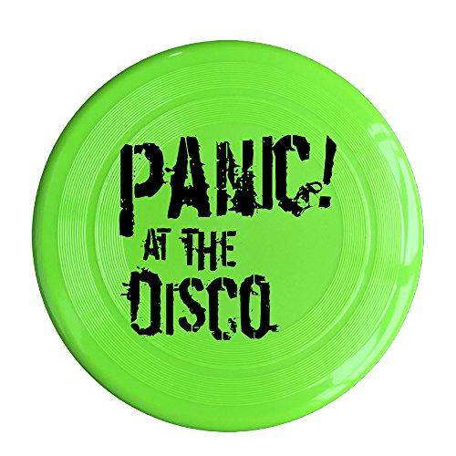 RCINC Panic Rock Band Logo Outdoor Game Frisbee Sport KellyGreen]()