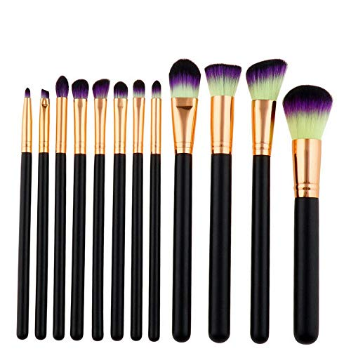 08981b6a1657 Kaputar 12pcs Pro Makeup Brushes Set Foundation Powder Eyeshadow Eyeliner  Lip Brush Tool | Model MKPBRSH - 1467 | 12PCS #3