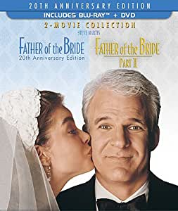 Father of the Bride: 20th Anniversary Edition 2-Movie Collection - 3-Disc BD Combo Pack (BD+2-Disc DVD) [Blu-ray] (Sous-titres français)