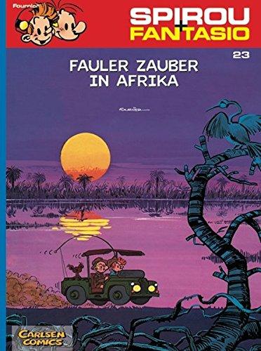Spirou & Fantasio 23: Fauler Zauber in Afrika: (Neuedition) Taschenbuch – 22. März 2004 Jean-Claude Fournier Carlsen 3551772231 Belletristik