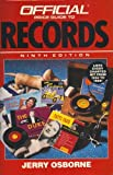 The Official Price Guide to Records, Jerry Osborne and House of Collectibles Staff, 087637819X