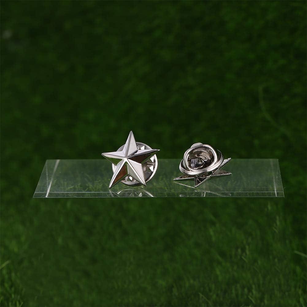 Mialang Lot de 24 /épingles en Forme d/étoile /à 5 Points Dor/é 1,6 cm