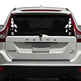 Storm Trooper Car Decal, White, 12' H x 5' W, Die Cut Vinyl Decal For Windows, Cars, Trucks, Tool Box, Laptops, Macbook- Virtually Any Hard, Smooth Surface