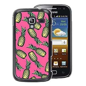 A-type Arte & diseño plástico duro Fundas Cover Cubre Hard Case Cover para Samsung Galaxy Ace 2 (Drugs Weed Cannabis Pink Fruit)