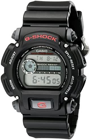 G-shock DW9052-1V Men's Black Resin Sport Watch