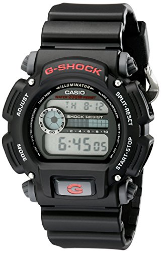 G shock DW9052 1V Black Resin Sport
